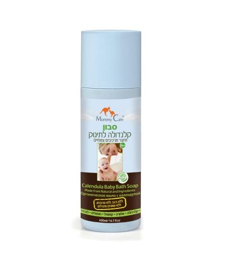 סבון קלנדולה לתינוק 400 מ'ל  Mommy Care