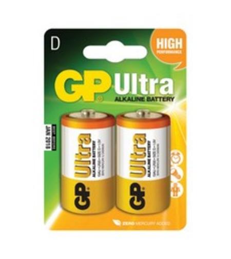 סוללה PG Ultra - אולטרה אלקליין מסוג LR20, גודל D