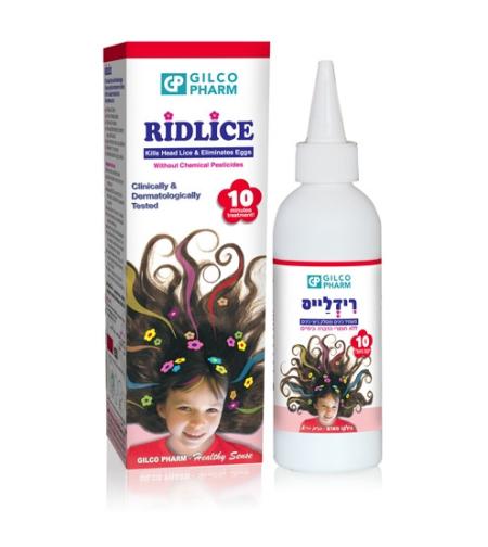 רידלייס - משמיד כינים ומסלק ביצי כינים