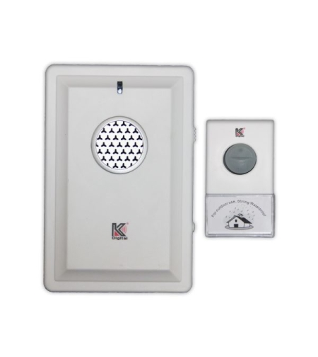 פעמון דלת אלחוטי D034K