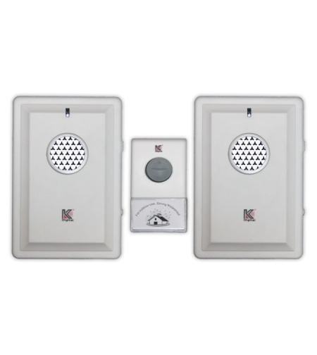 פעמון דלת אלחוטי כפול D034K-1