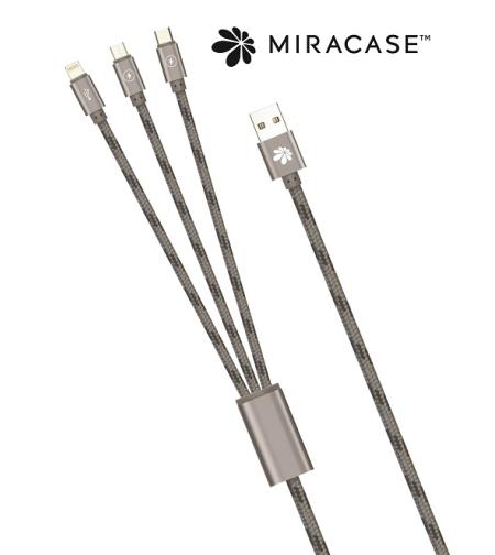 כבל 3 IN 1 מיקרו/איפון/M3IN1NTYC