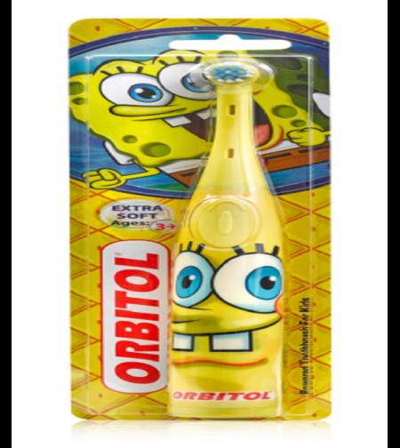 מברשת שיניים חשמלית בוב ספוג