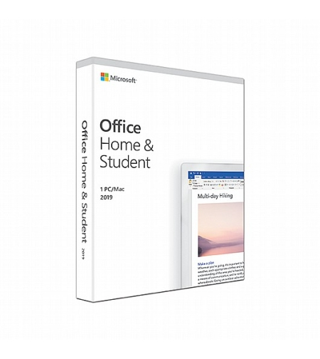 תוכנת Office Home and Student 2019 English Medialess 79G-05035