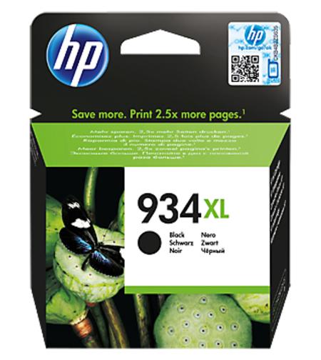 ראש דיו מקורי בשחור HP 934XL C2P23AE