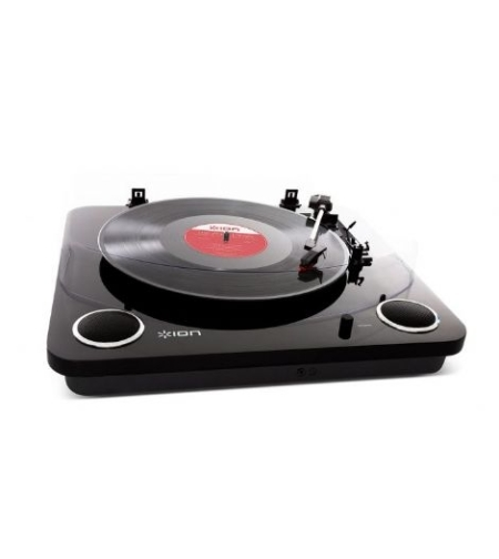 פטיפון עם רמקולים Ionaudio Max LP - שחור