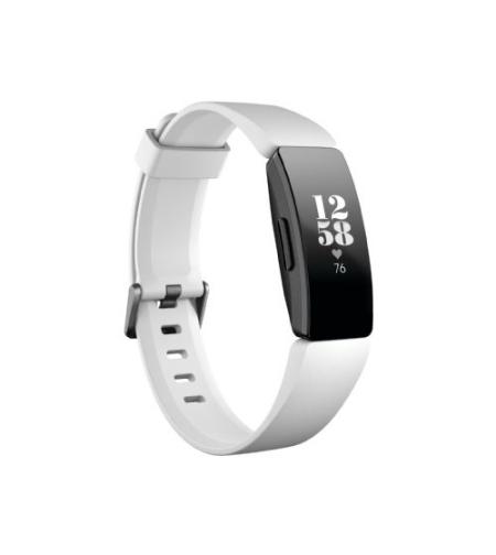 צמיד פעילות שחור/לבן Fitbit Inspire HR