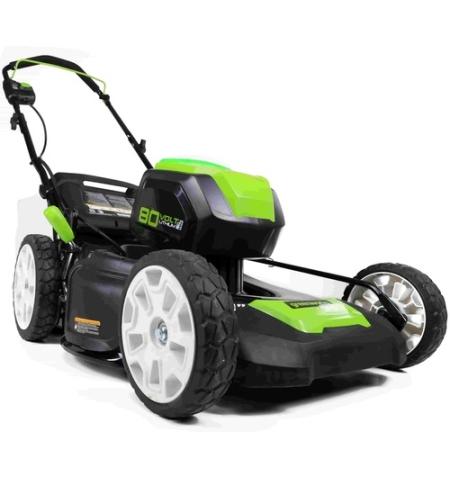 מכסחת דשא נטענת 80V נסיעה עצמית-גוף בלבד greenworks