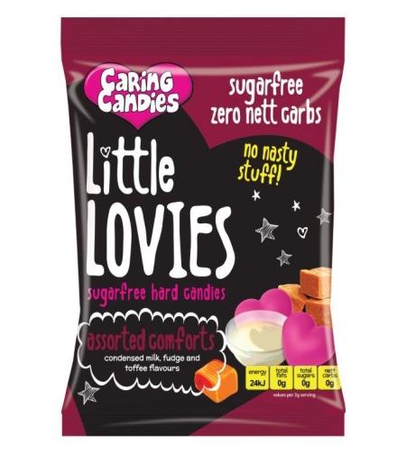 ליטל לוביז - סוכריות קשות ללא סוכר בטעם מנחם 100 ג