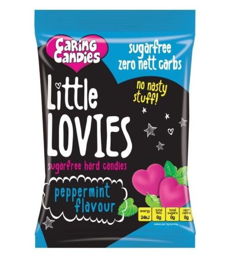 ליטל לוביז - סוכריות קשות ללא סוכר בטעם מנטה 100 גר' או 1 ק