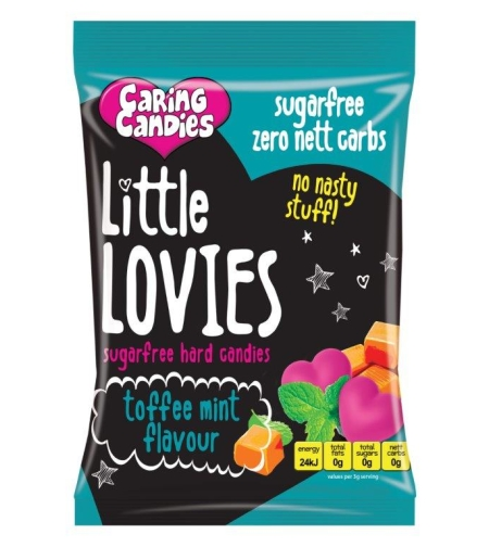 Little Lovies - Sugar Free Toffee Mint 100g or 1 kg