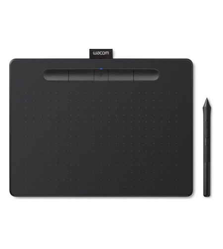 לוח כתיבה אלקטרוני Wacom Intuos Medium Bluetooth Black CTL-6100WLK-N