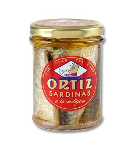 סרדין אורטיז צנצנת