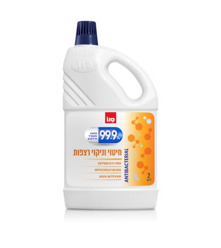 סנו 99.9% נוזל חיטוי וניקוי רצפות 2 ליטר