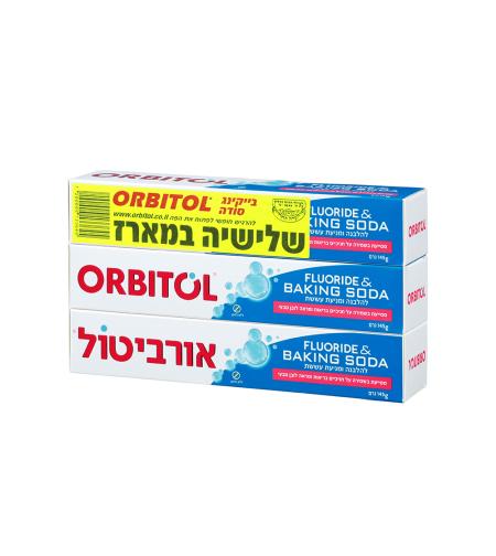 אורביטול משחת שיניים סודה