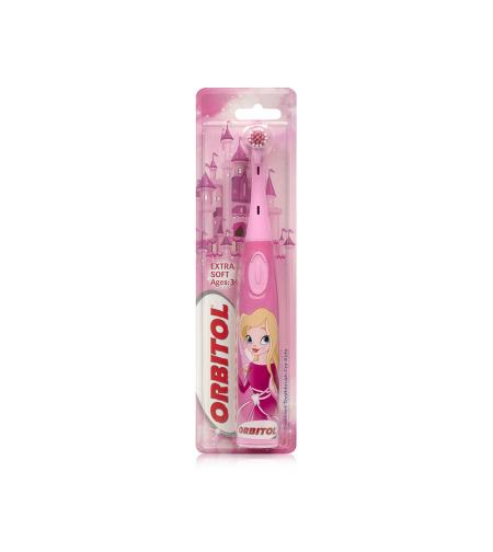 אורביטול - מברשת שיניים לילדים עם סוללות - פיות