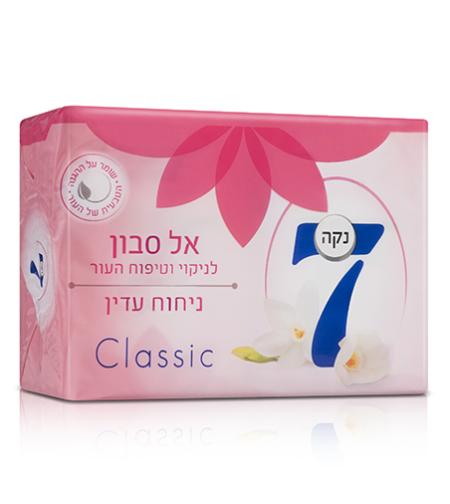 נקה 7 אל סבון (ניחוח עדין קלאסיק),400 גרם