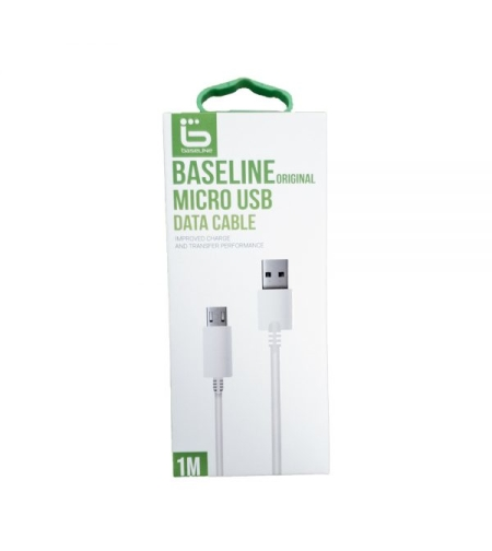 BaseLine DATA Cable Micro USB 1M