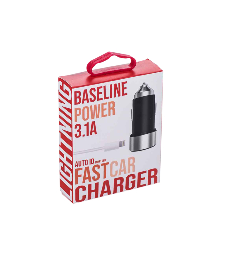BaseLine Lightning Car Chrger 3.1A