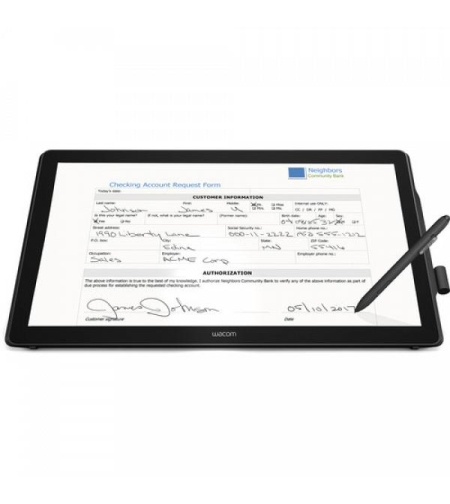 Wacom 23.8 Interactive Pen & touch Display