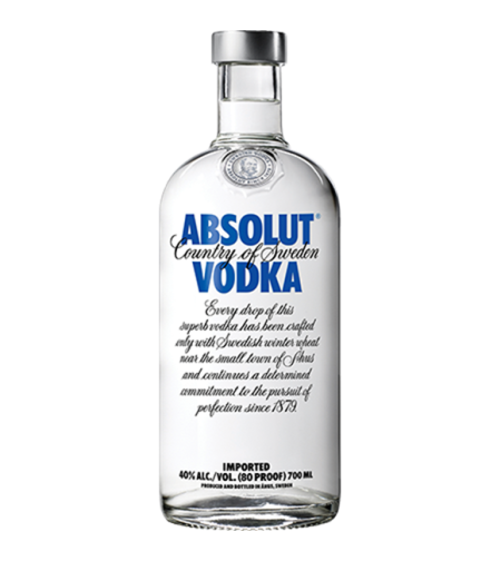 אבסולוט וודקה 1 ליטר- Absolut Vodka