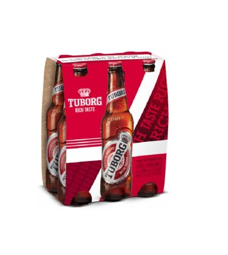 טובורג בירה שישיה 6*330-  Tuborg beer