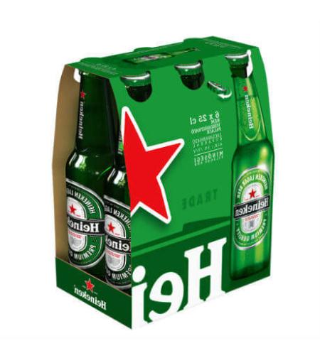 היינקן בירה 6*330 מ