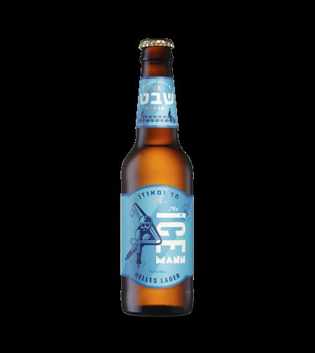בירה שבט אייס מאן 330 מ