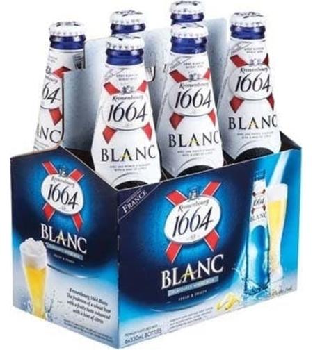 שישית בירה בטעם הדרים בלאנק 1664-blanc