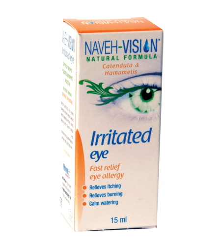 NAVEH VISION IRRITATED EYE15ML