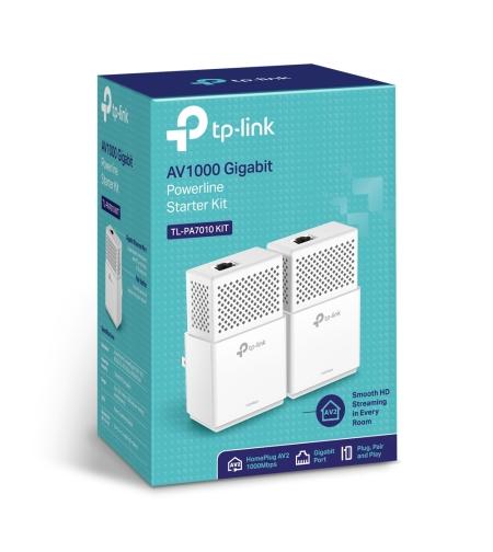 מתאם רשת חשמל זוג TP-LINK TL-PA7010KIT