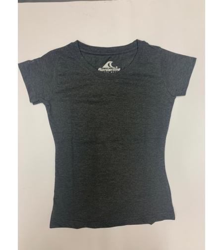 חולצת בית ספר בנות ס.ג'רסי אפור כהה