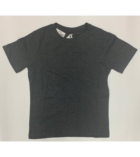 חולצת בית ספר בנים ס.ג'רסי אפור כהה