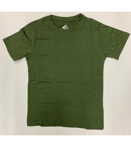 חולצת בית ספר בנים ס.ג'רסי ירוק זית