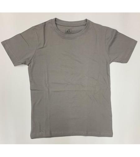 חולצת בית ספר בנים ס.ג'רסי אפור