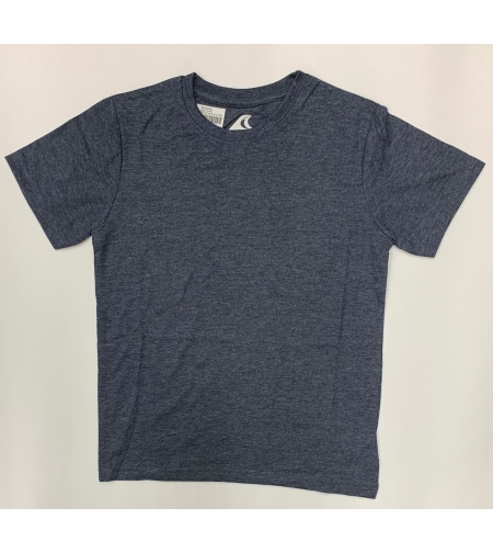 חולצת בית ספר בנים ס.ג'רסי אפור נייבי