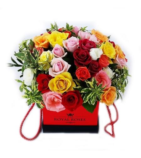 סידור פרחים טרופיק