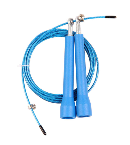 דלגית קפיצה אירובית Speed Rope צבע כחול