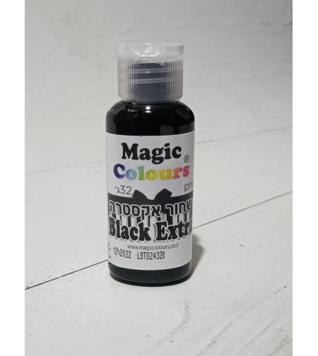 צבע מאכל ג'יל מג'יק קולורס - שחור אקסטרה