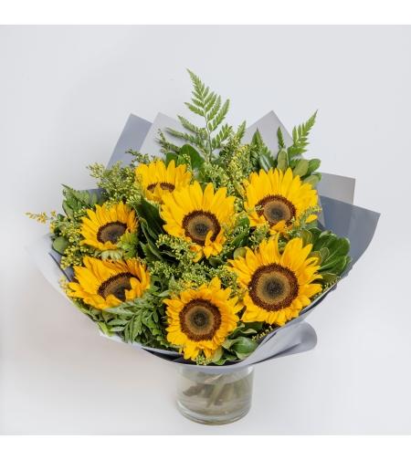 זר פרחים Sunflowers