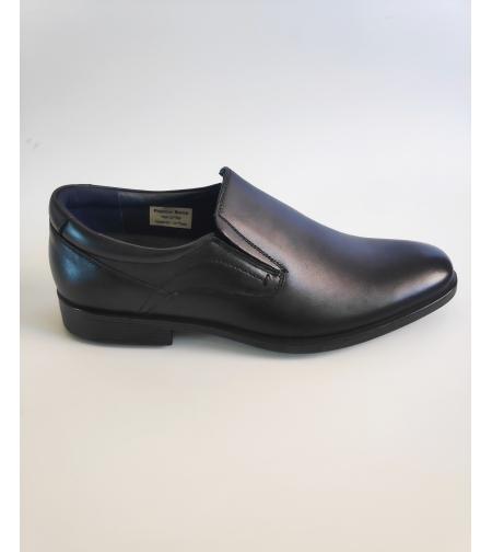 FRANCO BANE נעל Comfort  מעור בצבע שחור