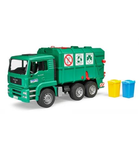 משאית זבל ירוקה