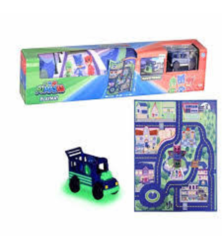 כח פי ג'יי שטיח משחק+ רכב קטן