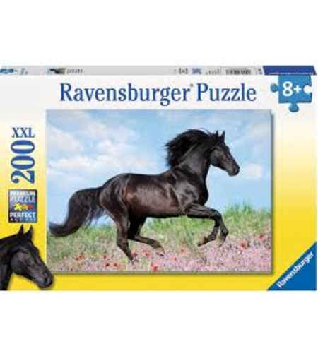 פאזל סוס שחור 200 חלקים Ravensburger