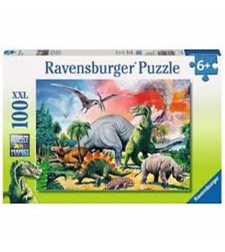 פאזל  דינוזאורים 100 חלקים Ravensburger