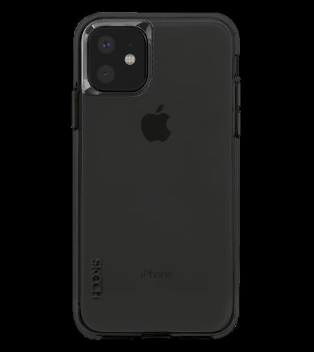 כיסוי SKECH סקצ' לאייפון IPHONE 11 דגם DUO (שחור כהה)
