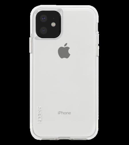 כיסוי SKECH סקצ' לאייפון IPHONE 11 דגם DUO (שקוף)
