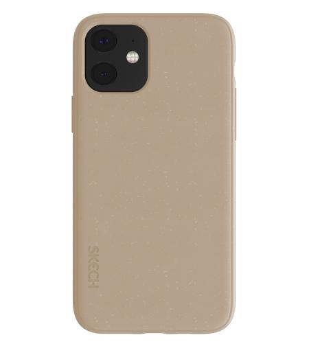 כיסוי SKECH סקצ' לאייפון IPHONE 11 דגם BIO CASE (חום)