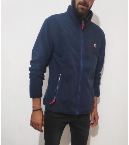 pepe jeans   קפוצ'ון כחול כהה מפליז