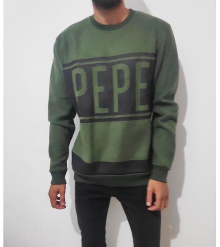 pepe jeans פליז ירוק